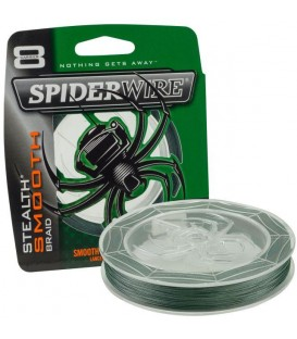 Šňůra Spiderwire Stealth Smooth 8 Zelená 150m