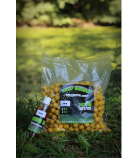 Carp Inferno AKCE Boilies Light Line 3 kg + 250 ml booster|Banán